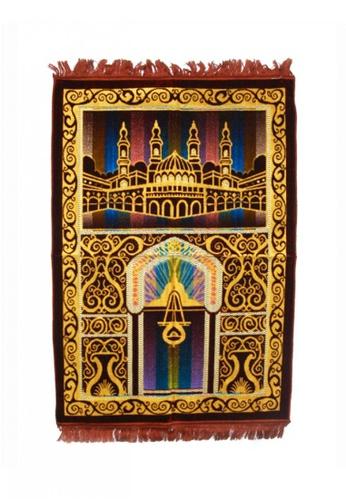 KAMDAR brown Prayer Rug Normal Spiegel Multi colors A625CAA6DA9E07GS_1