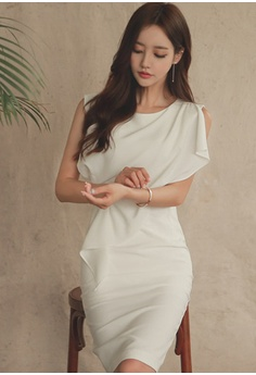22% OFF Sunnydaysweety S S Elegant White One-Piece Dress UA040329 S  98.00  NOW S  76.00 Sizes S M L f1aa75d15