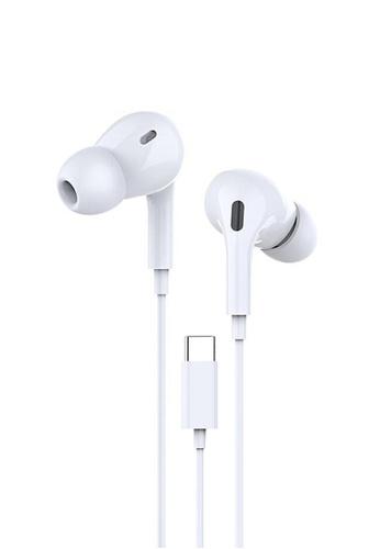 Latest Gadget white Dprui MX838 Earpods Type-C Earphone – White 9944DESA299D77GS_1
