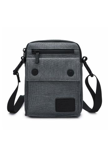 The Dude grey Imagine Messenger Bag AB577AC70A4A04GS_1