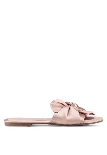 OVS pink Sandals With Knotted Upper 1AD6DSH2DB3C4CGS_1