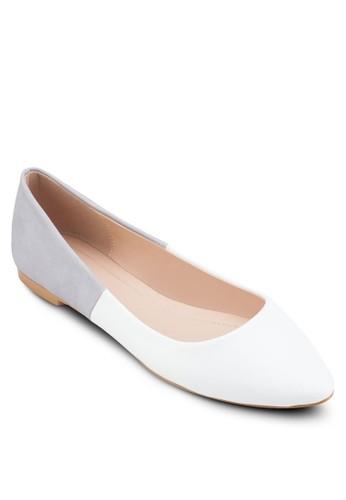 基本款撞色esprit outlet台北平底鞋, 女鞋, 芭蕾平底鞋