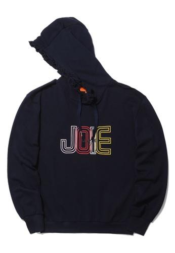 """tout à coup navy """"Joie"""" frill hoodie 277BCAA2B5D8FAGS_1"""