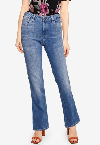Guess blue Sexy Straight Jeans 291D1AA3B79401GS_1