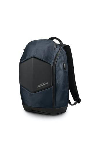 Lamborghini blue Automobili Lamborghini® Galleria Blue Backpack D9BA8AC1D8C5EEGS_1