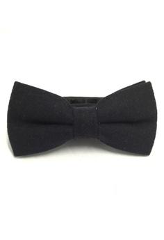 307f6c53b Splice Cufflinks Dolly Series Black Wool Pre-tied Bow Tie SP744AC46QRTSG_1
