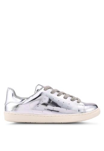 Something Borrowed 銀色 金屬感運動鞋 A53FBSH749D0FDGS_1