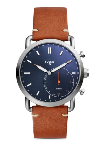 Fossil brown Fossil Q Commuter Brown Smart Watch FTW1151 FO164AC0SM60MY_1