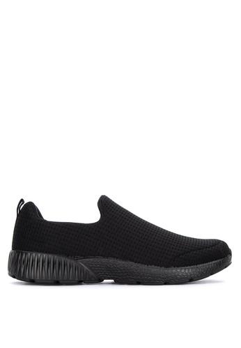 Jump black Kinros Slip-On Sneakers A33F3SH9D0B8D7GS_1