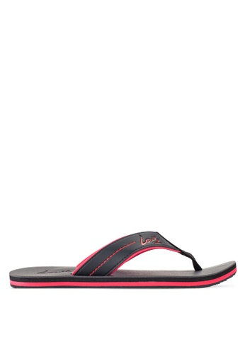 Louis Cuppers black Casual Sandals LO977SH31RDCMY_1