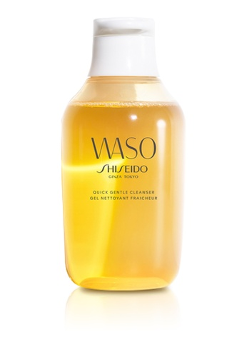 Shiseido yellow Shiseido WASO Quick Gentle Cleanser 150ml SH514BE0GMG8SG_1
