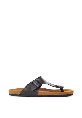 Navara brown Anson Brown EVA Sandals EDA16SH5ED5543GS_1
