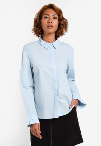 Vero Moda blue VMJANE L/S SHIRT VE975AA0S3YXMY_1