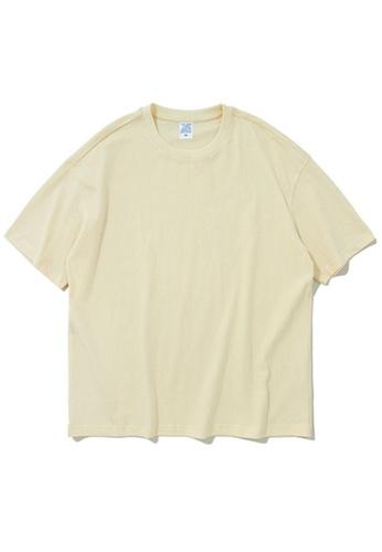 Twenty Eight Shoes Oversize Plain T-Shirts 8193S A3545AA3ED44FAGS_1