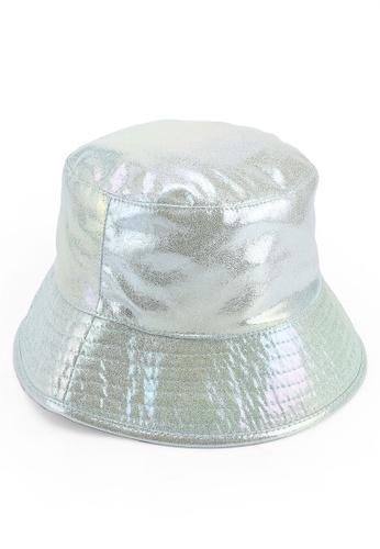 46247904ffe6a TOPSHOP green Iridecent Bucket Hat C36BAACBC031D3GS 1