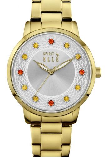 ELLE gold Fashion Ladies Watch EL900AC12LPRMY_1
