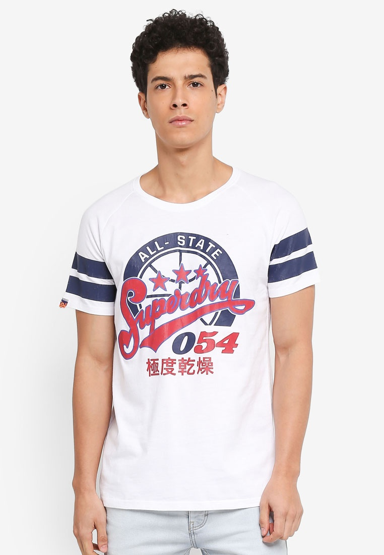Tee League 054 Optic Major Superdry 4wAxZZqf5W