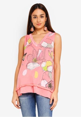 Desigual pink Marisa Top 97FDEAAD031392GS_1