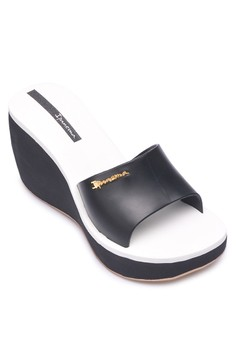 Leblon Fem Wedge Slides