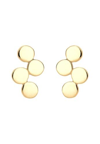 ELLI GERMANY gold Elli Germany Earrings Circle Geo Minimalism Silver Gold Plated 3A0B9ACA4A3AEEGS_1