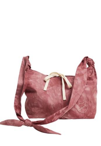 MANGO KIDS pink Long Handle Tie-Dye Bag 89D7AKCBBCEF9EGS_1