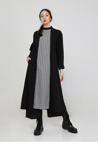 Anggiasari Mawardi black Selena Black Dress Combination EB9BEAA213372FGS_1