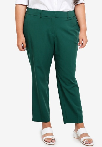 3e9997997f6 Dorothy Perkins green Plus Size Green Ankle Grazer Trousers  8263EAACF0FF54GS 1