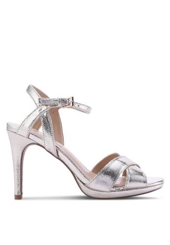 Dorothy Perkins gold Gold Sonia Metallic Heels DO816SH54BZXMY_1