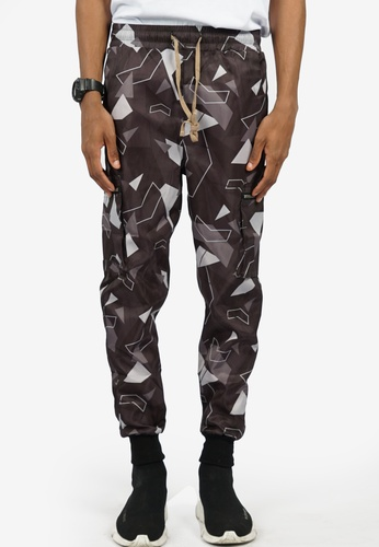 Nerdunit black Nerdunit Camo Cargo Pants 62763AAA6684E6GS_1