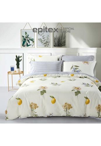 Epitex Epitex CP2033-7 900TC 100% Cotton Bedsheet - Fitted Sheet Set (w/o quilt cover) A0239HL380D297GS_1