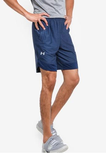 Under Armour 藍色 UA Train Stretch Shorts 5F8B8AABA7A841GS_1