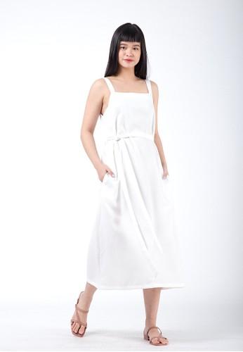 Simplify white Reva Dress White 788A1AAF5CD1BCGS_1