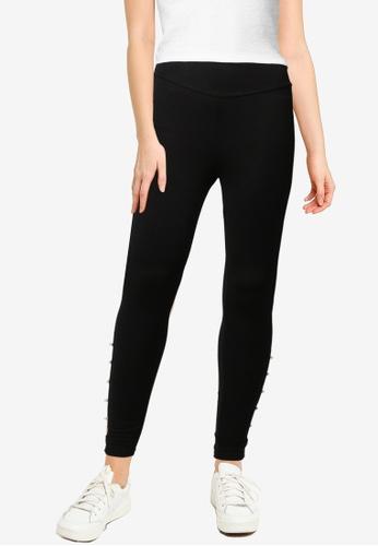 Springfield black Pearls Detail  Leggings F2C5CAA372158EGS_1