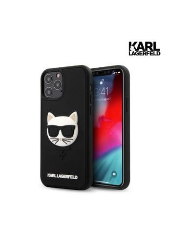 KARL LAGERFELD black Case iPhone 12 Pro Max Karl Lagerfeld 3D Rubber Choupette HD C9712ES857B1BDGS_1
