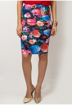 Bouquet Midi Skirt