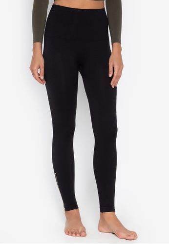 1336946eeed446 Spanx black Look At Me Now Seamless Side Zip Leggings CE4B4AA6A97295GS_1