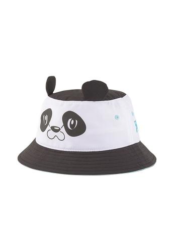 Puma white Animal Youth Bucket Hat 4EE1EKC57A519BGS_1