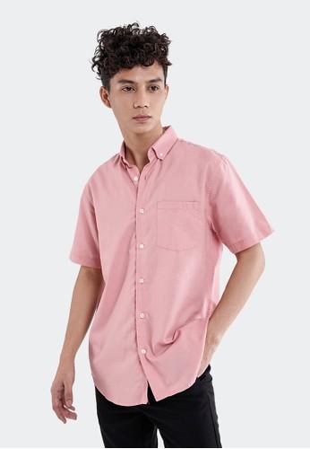 Celciusmen pink Kemeja Casual Celcius A07397C B2F6FAA4EE6B3DGS_1