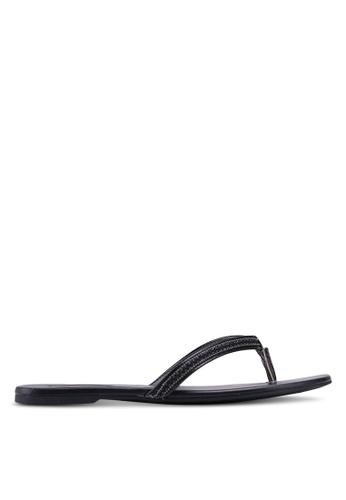 ALDO black Rivali Flip Flops 8FA80SH8283E04GS_1