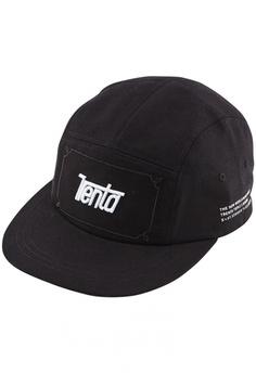 dc4b56353b8a6 DOSSCAPS black TRENTA 5 Panel Camp Cap (Black) 873CDACE663313GS 1