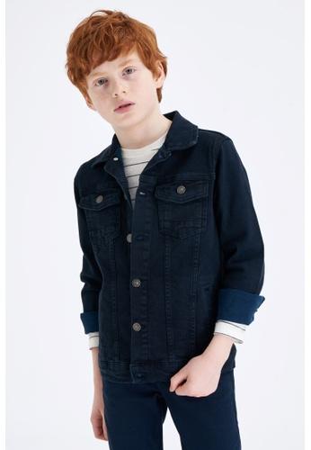 DeFacto grey Boy Denim Jacket CE710KA218C430GS_1