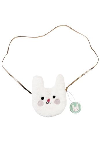 Ribbons+Wheels white Rex London Bunny Bag 3599CKCC841727GS_1