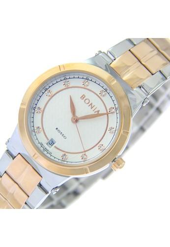 BONIA silver Bonia Rosso BR129-2617 - Jam Tangan Wanita - Silver Rosegold EC88FACC0A2DAAGS_1