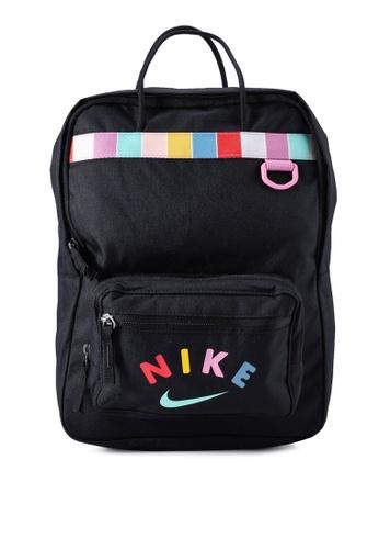 Nike black Kids' Tanjun Graphic Backpack E4534KCF31F302GS_1