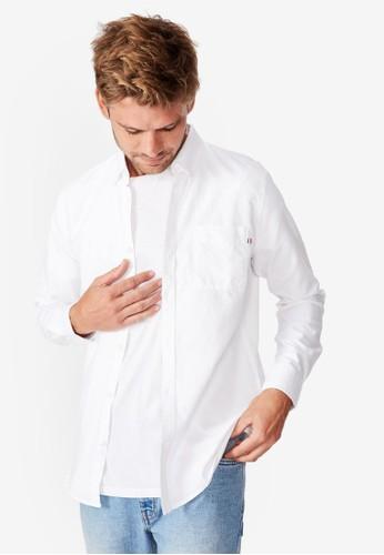 Cotton On white Brunswick Shirt CO372AA0SSAHMY_1