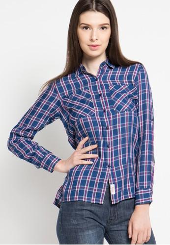 Cressida Ladies blue Basic Shirt CR653AA45JTAID_1