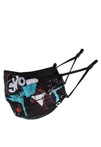 Desigual black Love Mask + Pouch A9571ES61735FAGS_1