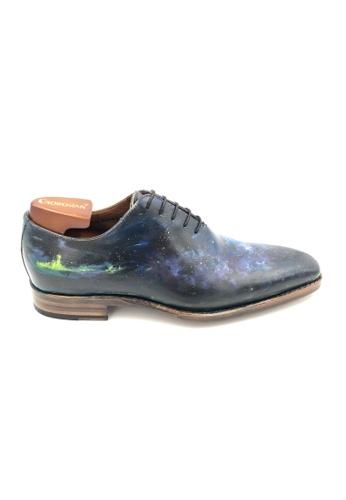 Giorostan multi Men Formal Oxford Shoes A08C6SHCB747B6GS_1
