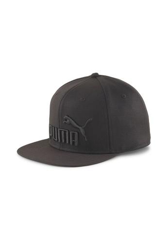 Puma black Flat Brim Youth Cap 3F745KC6725553GS_1