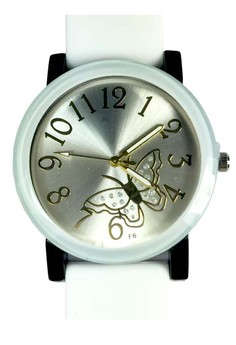 Butterfly Silicone Strap Watch Small